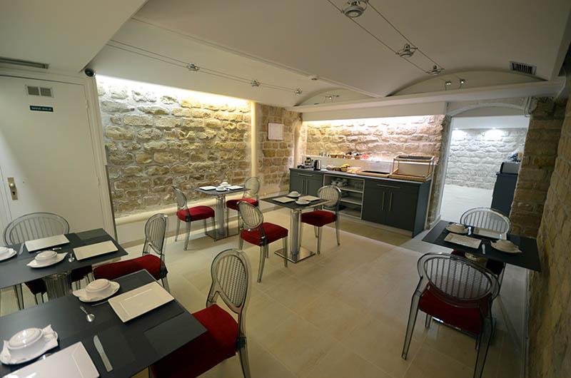 Rénovation et agrandissement d'un hôtel à Paris