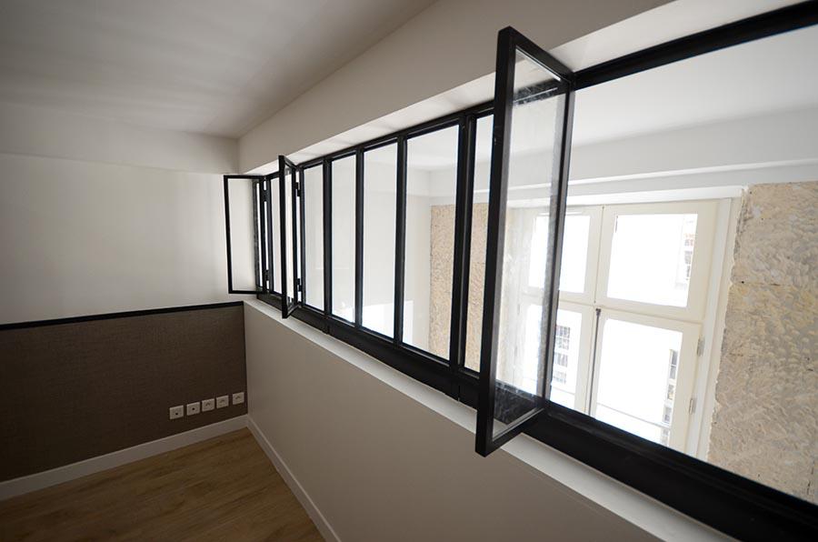 Aménagement de trois appartement à Paris