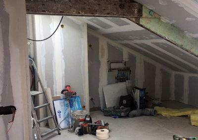 Rénovation d'un appartement sous comble à Vincennes