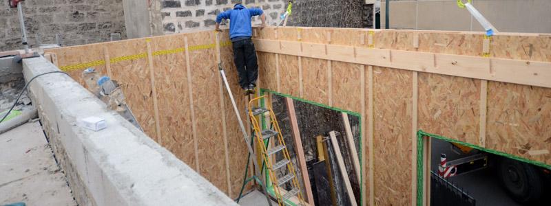 Construction de maison en bois Montreuil