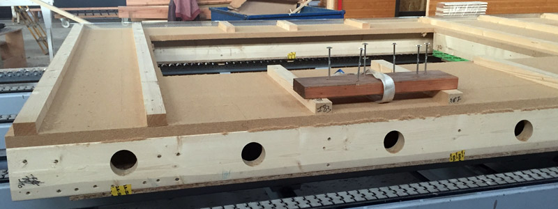 Construction de maison en bois préfabrication ossature bois