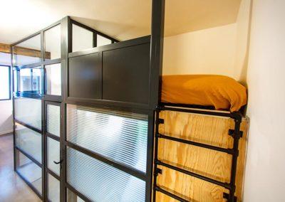 Mezzanine avec couchage