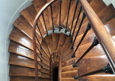 Rénovation des marches et rampe
