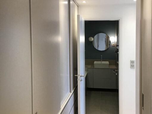Modifications et décoration d'un appartement à Paris 16e