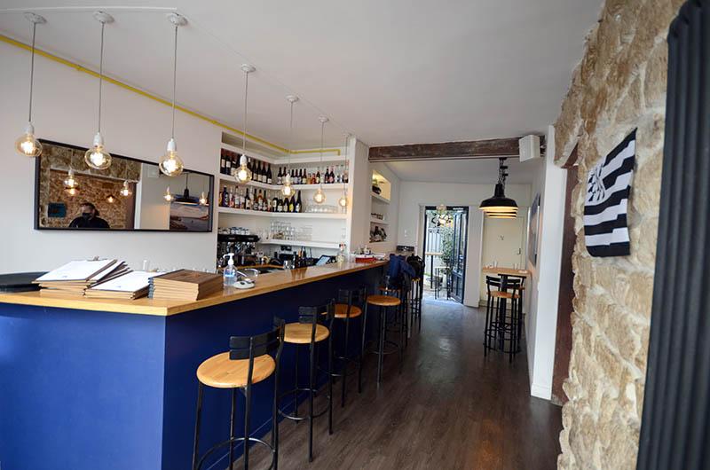 Travaux de peinture du bar restaurant à Paris
