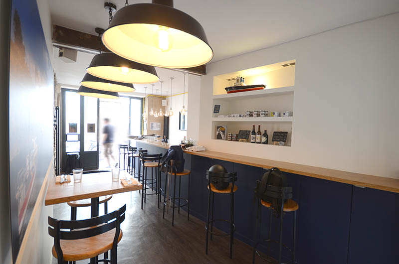 Travaux de rénovation du restaurant Plein Ouest à Paris