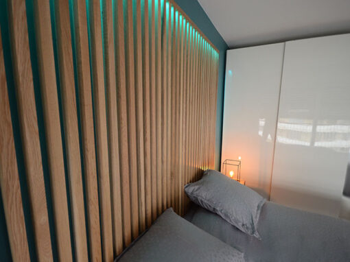 Travaux de décoration très soignée d'un appartement à Paris 14e