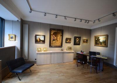 Rénovation d'une galerie d'art