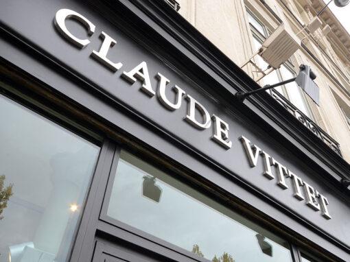 Rénovation d'une galerie d'art à Paris