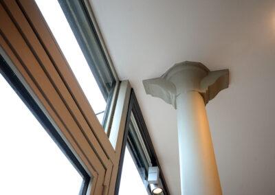 Rénovation des colonnes en acier