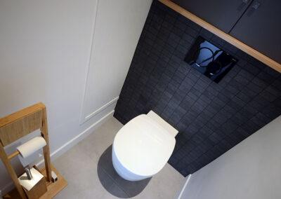 Travaux de rénovation de toilettes