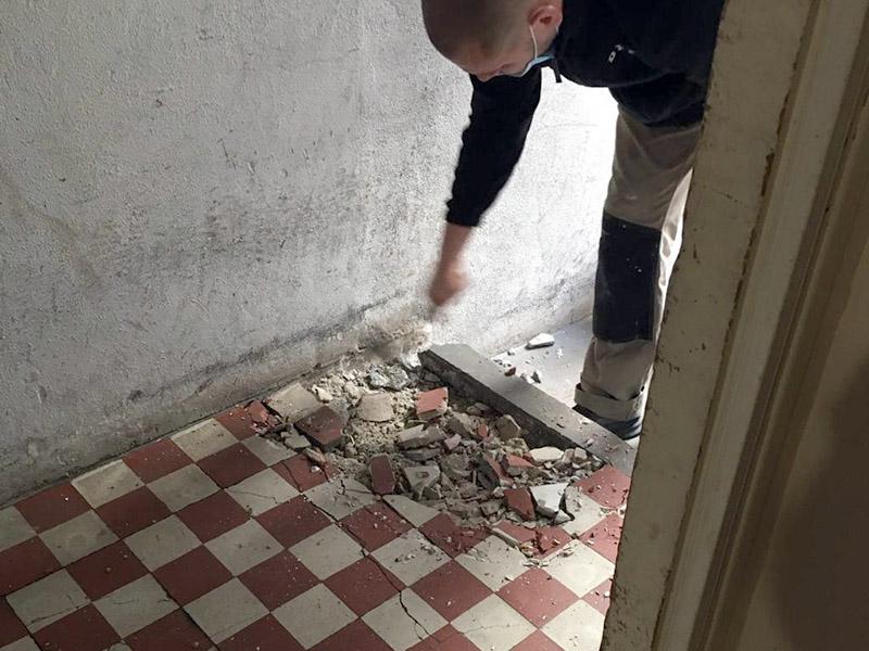 Travaux de rénovation des parties communes d'une copropriété à Issy les Moulineaux