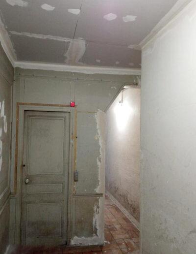 Travaux de rénovation des parties communes d'un immeuble
