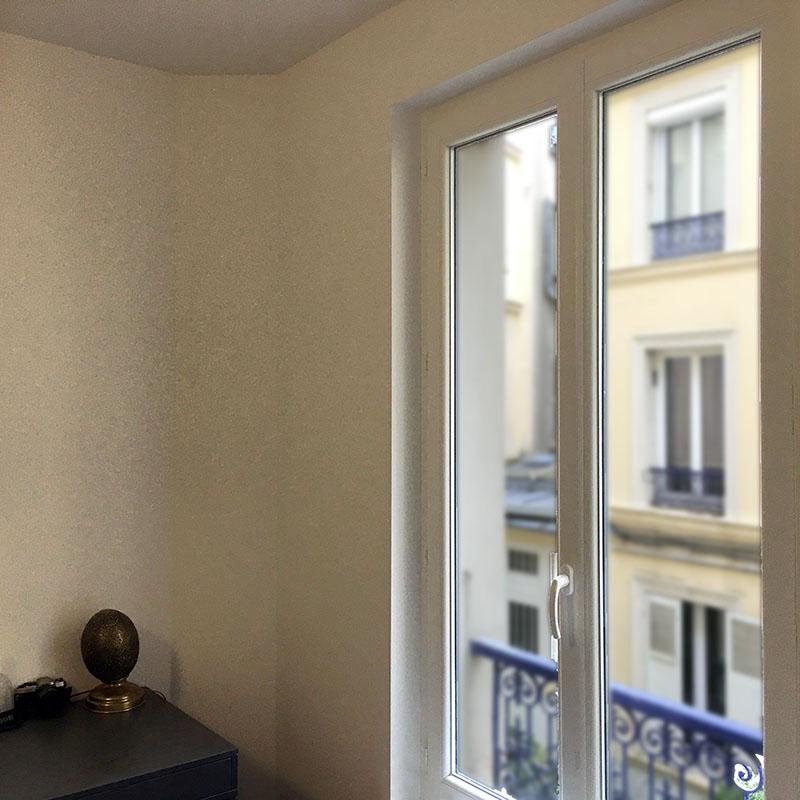 Changement des fenêtres en PVC avec double vitrage anti effraction