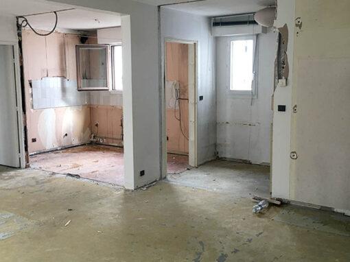 Aménagement complet d'un appartement de 65 m2 à Paris