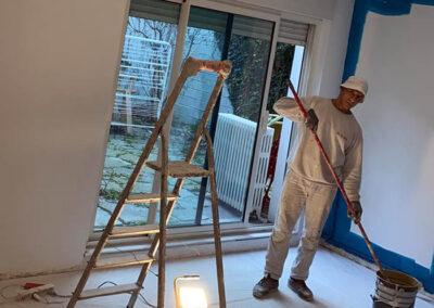 Travaux de peinture à Montreuil