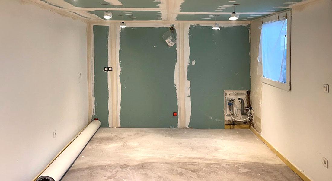 Rénovation partiele d'un appartement à Montreuil