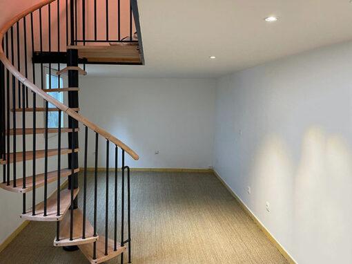 Travaux de rénovation en 6 jours d'un petit appartement à Montreuil