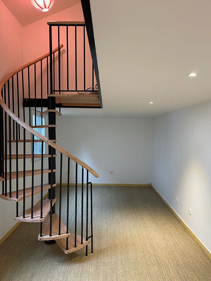 Rénovation partielle d'un appartement à Montreuil