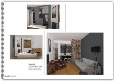 Etude de décoration d'un appartement à Paris